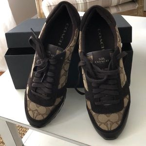 Brand new in box coach sneakers